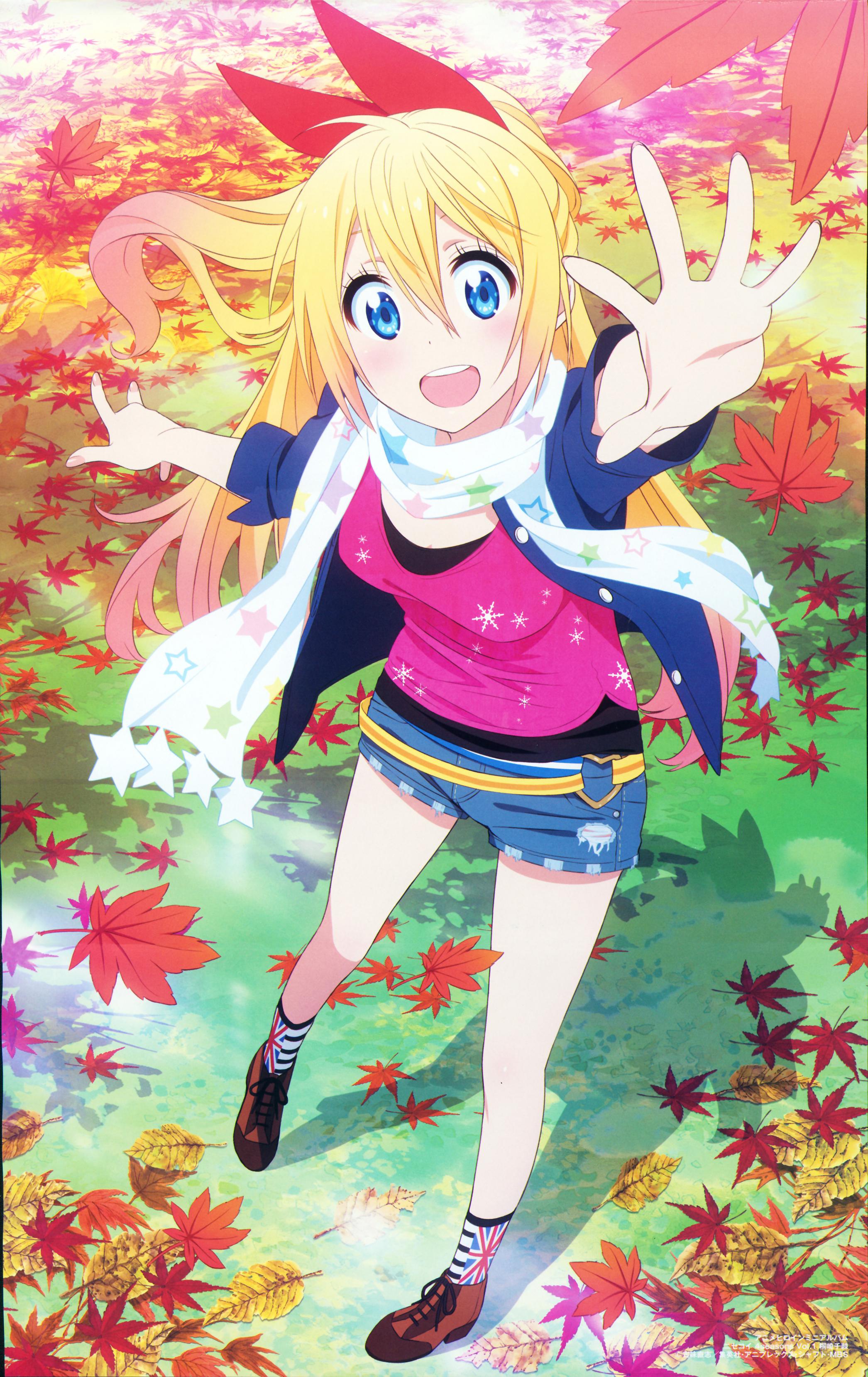 Nisekoi False Love Chitoge Kirisaki Anime Fanart