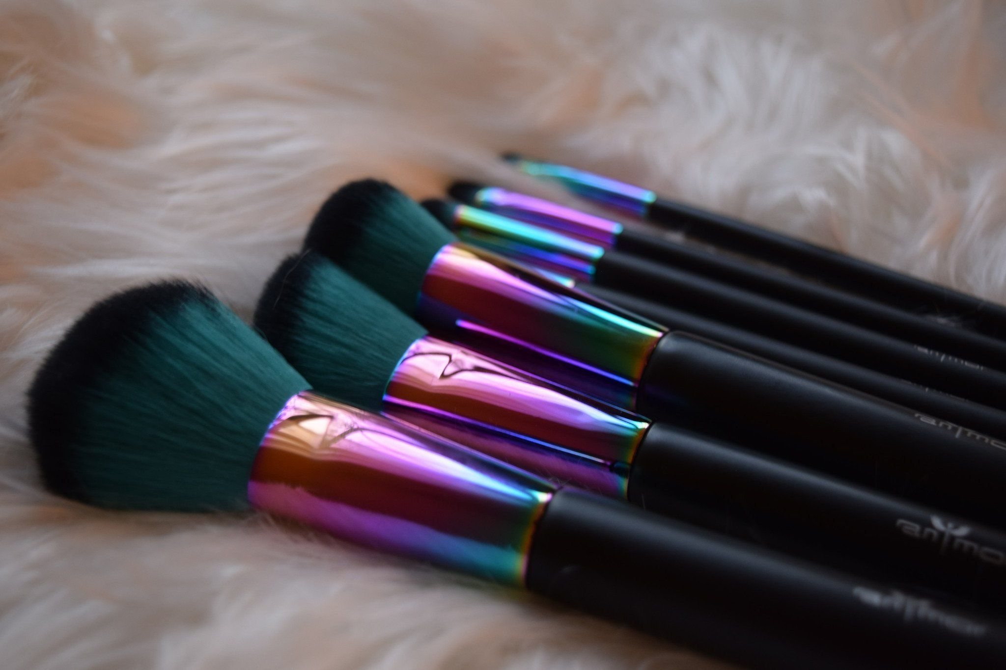 Prismatic Rainbow Makeup Brushes 7 Piece Set in 2020
