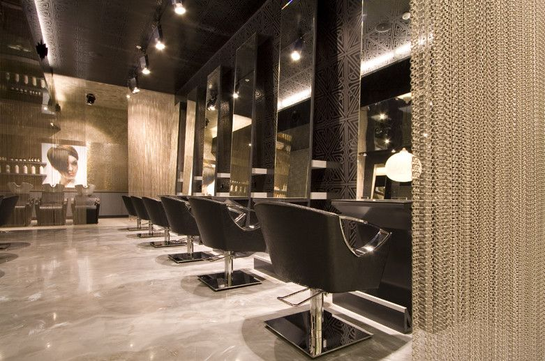 Related keywords suggestions for luxe salon for Hair salon interior design photo