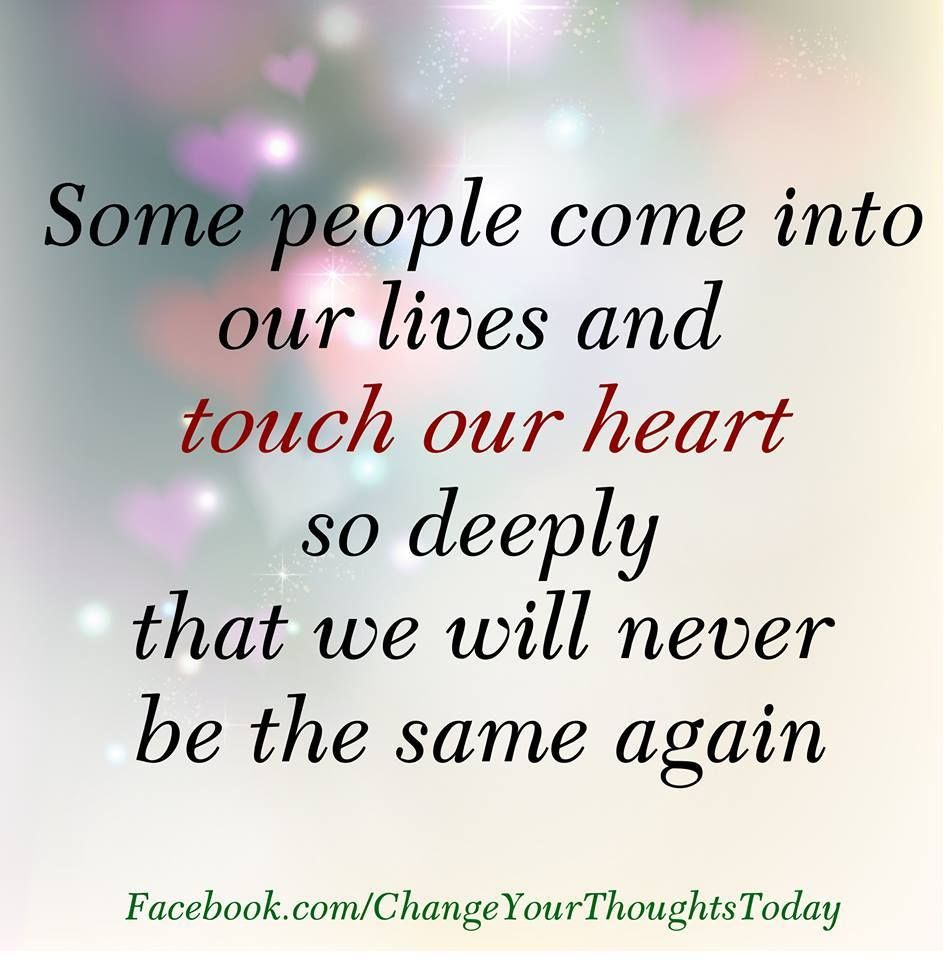 Some people es into our lives quote