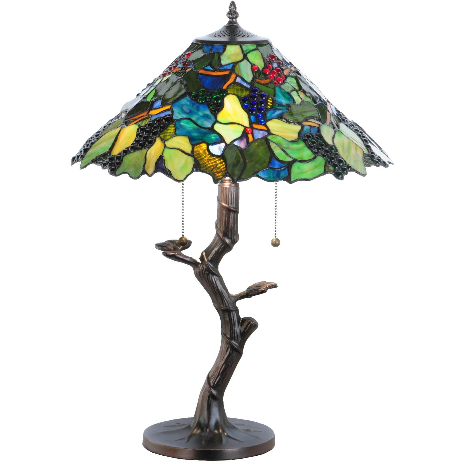 25 inch h tiffany grape harvest apple tree table lamp products 25 inch h tiffany grape harvest apple tree table lamp geotapseo Image collections