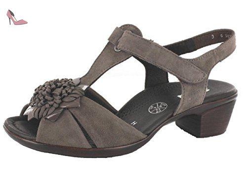 075e83d10 ara 12-35747H femmes gris cuir Sandale, EU 42 - Chaussures ara ...