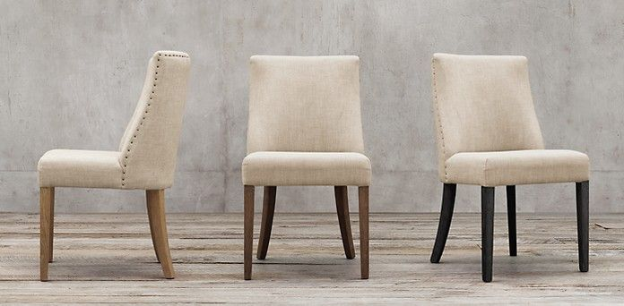 Elegant RHu0027s Fabric Chair Collections:At Restoration Hardware, Youu0027ll Explore An  Exceptional World Of High Quality Unique Dining Chairs.