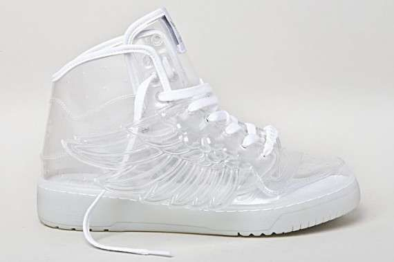 adidas see through shoes