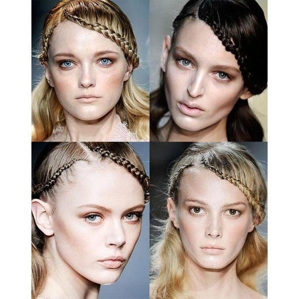 50 Cosmic Dark Purple Hair Hues For The New Image Lovehairstyles 5: Paris Fashion Week Runway Beauty Ellie Saab Spring 2010