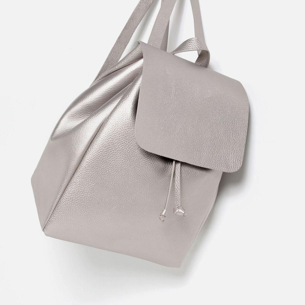 1af966914efa6 Voila picks Zara silver backpack
