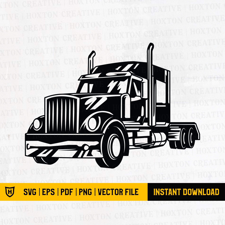 Big Truck Svg Semi Truck Svg Truck Svg Semi Truck Etsy In 2021 Big Trucks Semi Trucks Trucks