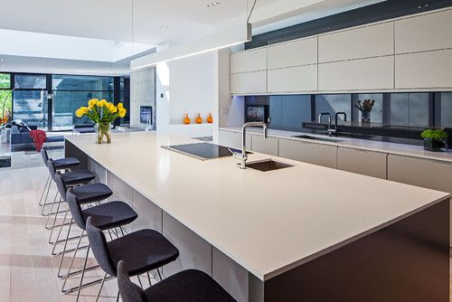 Modern Home in Oakville Ontario modern kitchen by Peter A Sellar