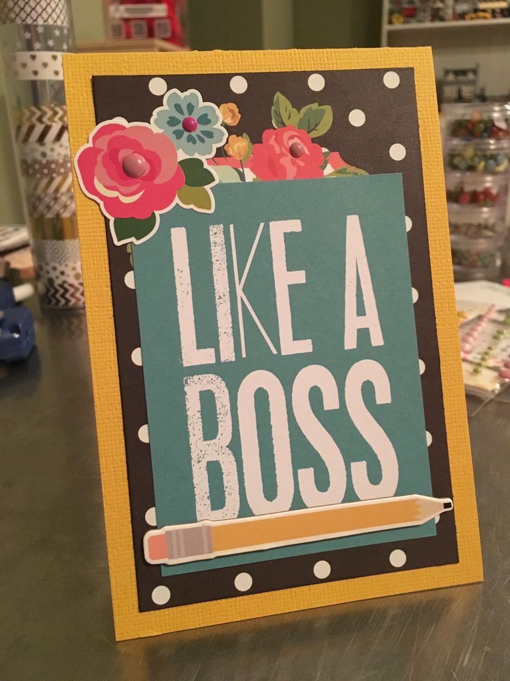 How to scrapbook like poppy - Simple Stories Carpe Diem Card Paper Craft Handmade Scrapbook Diy Like