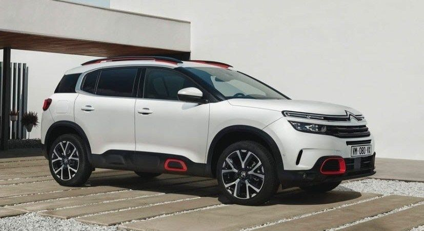 Citroen C5 Aircross Showcased In India Confirmed Launch 2020