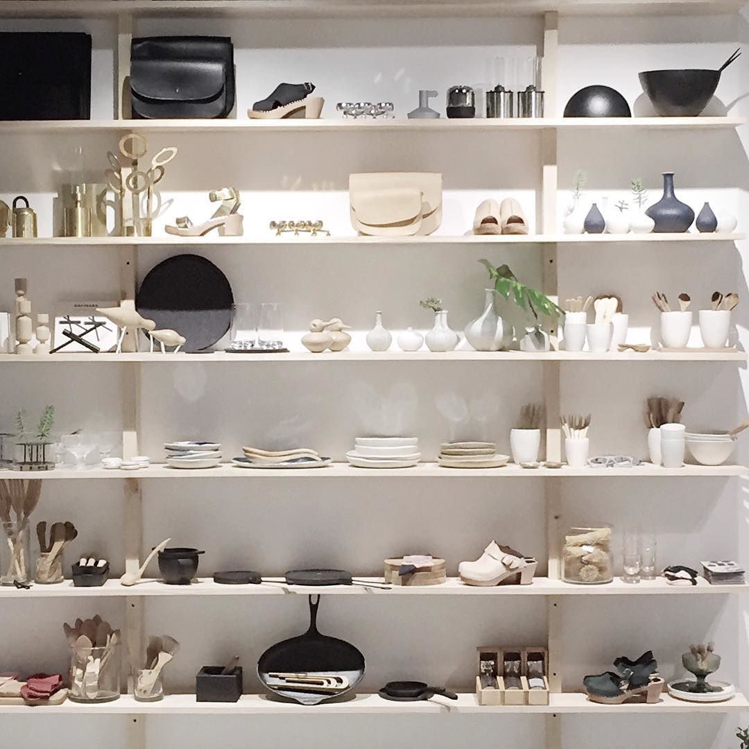 Looking through my Melbourne snaps and came across these beautifully curated shelves at the @funkis store  and speaking of snaps you can now follow me on snapchat:  thedesignchaser for some real life content of the unedited kind #BitScary #ThankGodItOnlyLasts24Hours by thedesignchaser