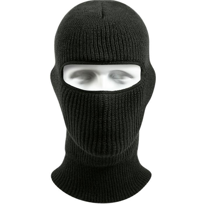 019681b3601 Black - Wintuck 1-Hole Face Mask. Face Mask Ski Mask Winter Cap 1 Hole  Balaclava Hood Army Tactical ...