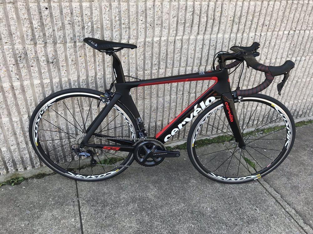 5de87162bf0 Cervelo S5 Ultegra 8000 Road Bike 2018 - Size 54 With Mavic Cosmic Elite  Wheel