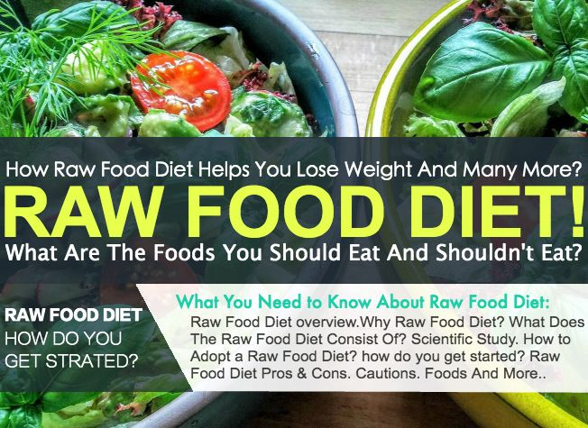 Raw Diet, Raw Foods You Should & Shouldn't Eat! Raw foodism, also known as following araw food diet, is thedietary practiceof eating only
