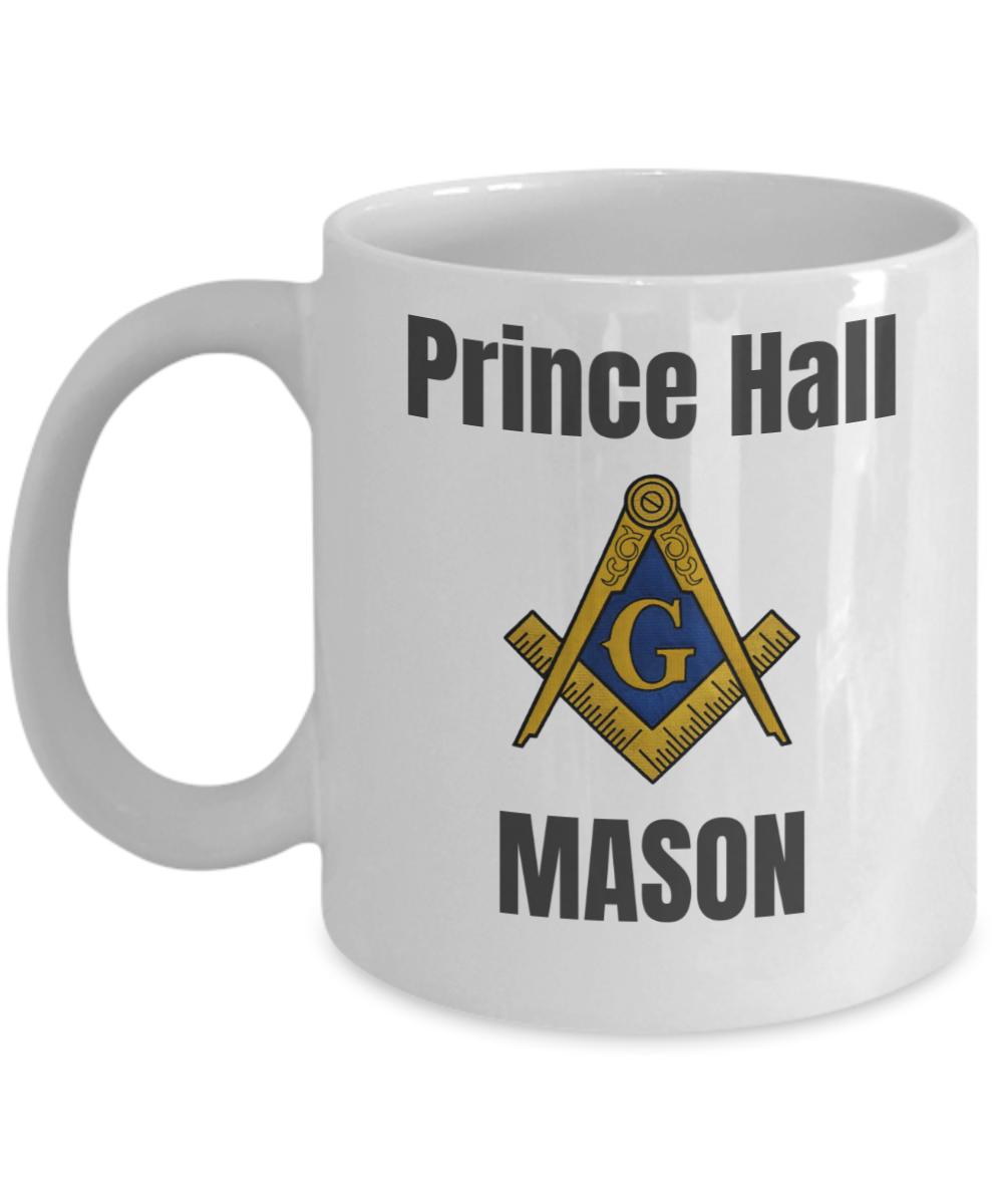 Prince Hall Mason Pha Coffee Mug Gift Freemasonry Accessories