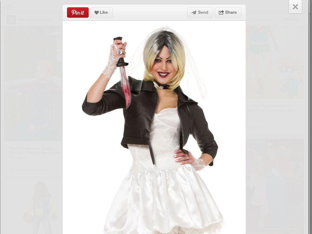 Chucky' s Bride Costume