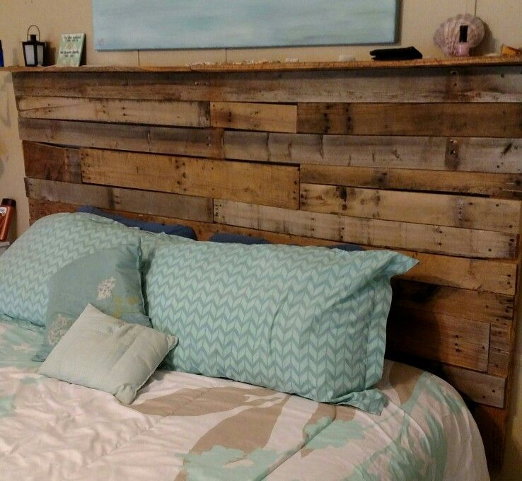 Little bit of the west headboard by Roberts Custom Pallets (RCP ...