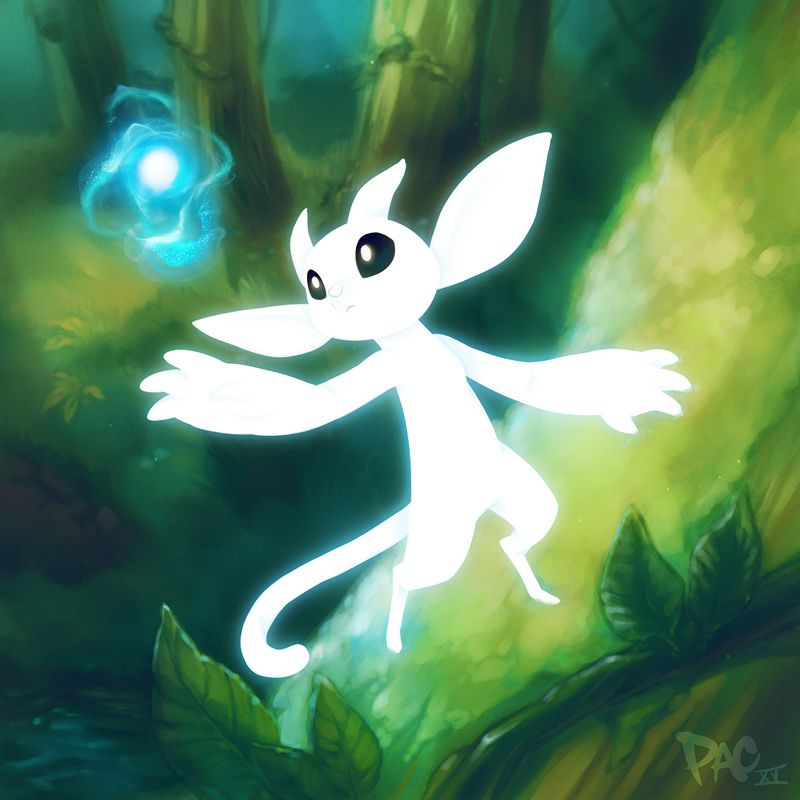 Ori And The Blind Forest Fan Art By Steam User Glorified