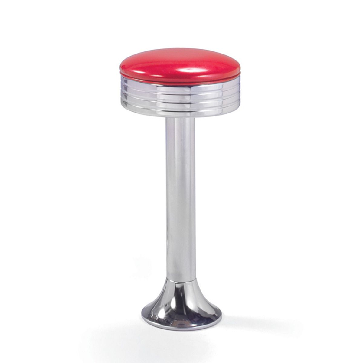 This Bolt Down Soda Fountain Stool Looks Just Like The Ones In Old  Fashioned Soda Fountains