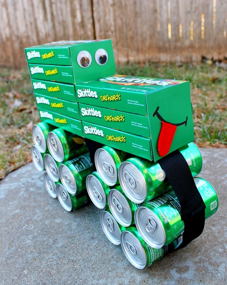 How To Make A Coke And Candy Tractor