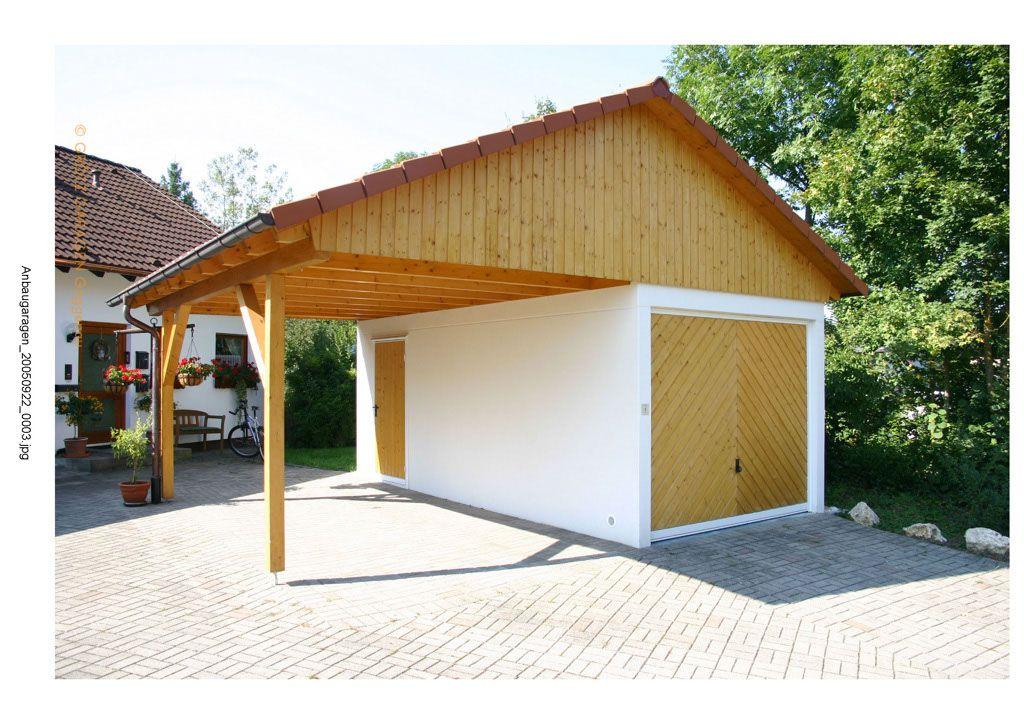 einzelgarage mit satteldach und carport einzelgaragen mit dachaufbauten garage. Black Bedroom Furniture Sets. Home Design Ideas