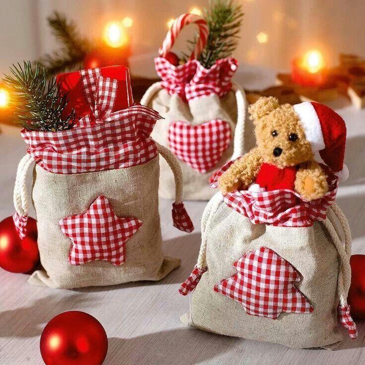 nähen für Weihnachten #rustikaleweihnachten