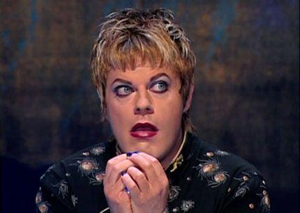 There eddie comedian transvestite british