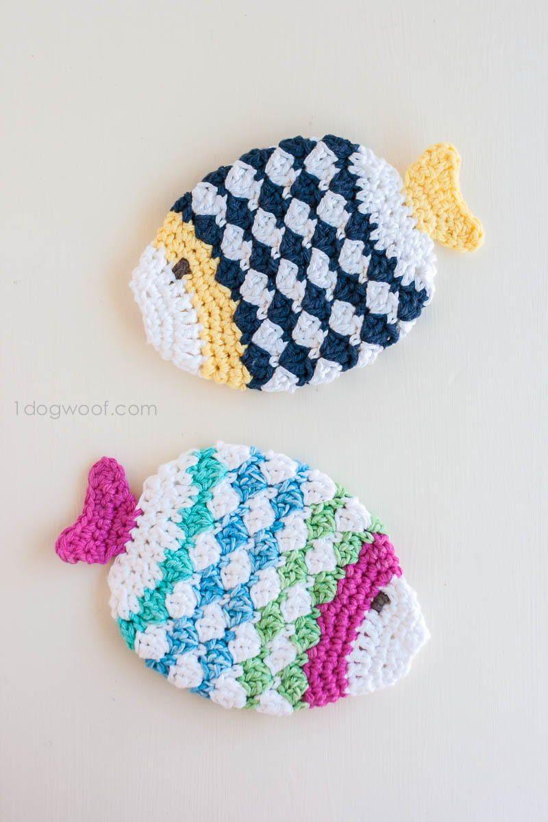 Fish scrubbie crochet washcloths fish crochet and crochet kitchen fish scrubbie crochet washcloths bankloansurffo Gallery