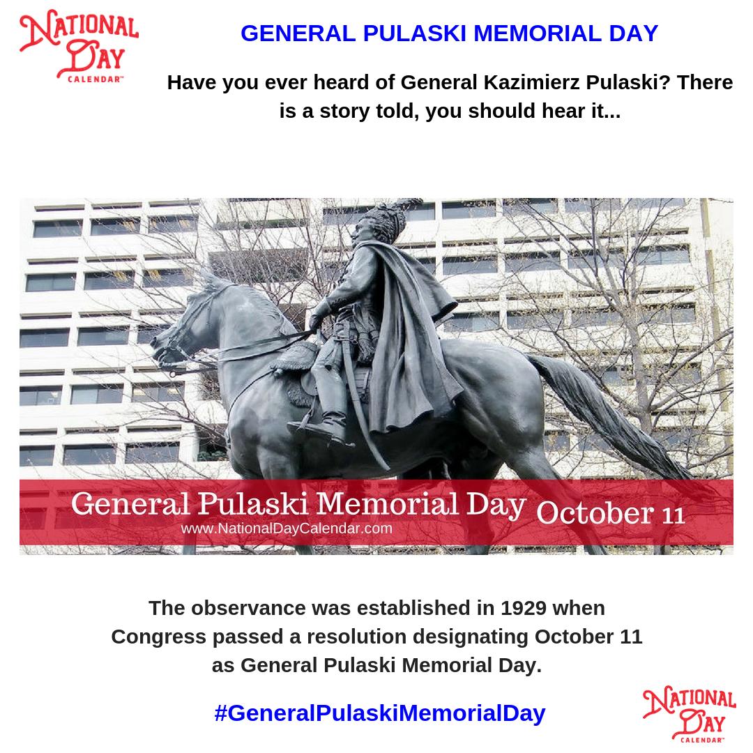General Pulaski Memorial Day