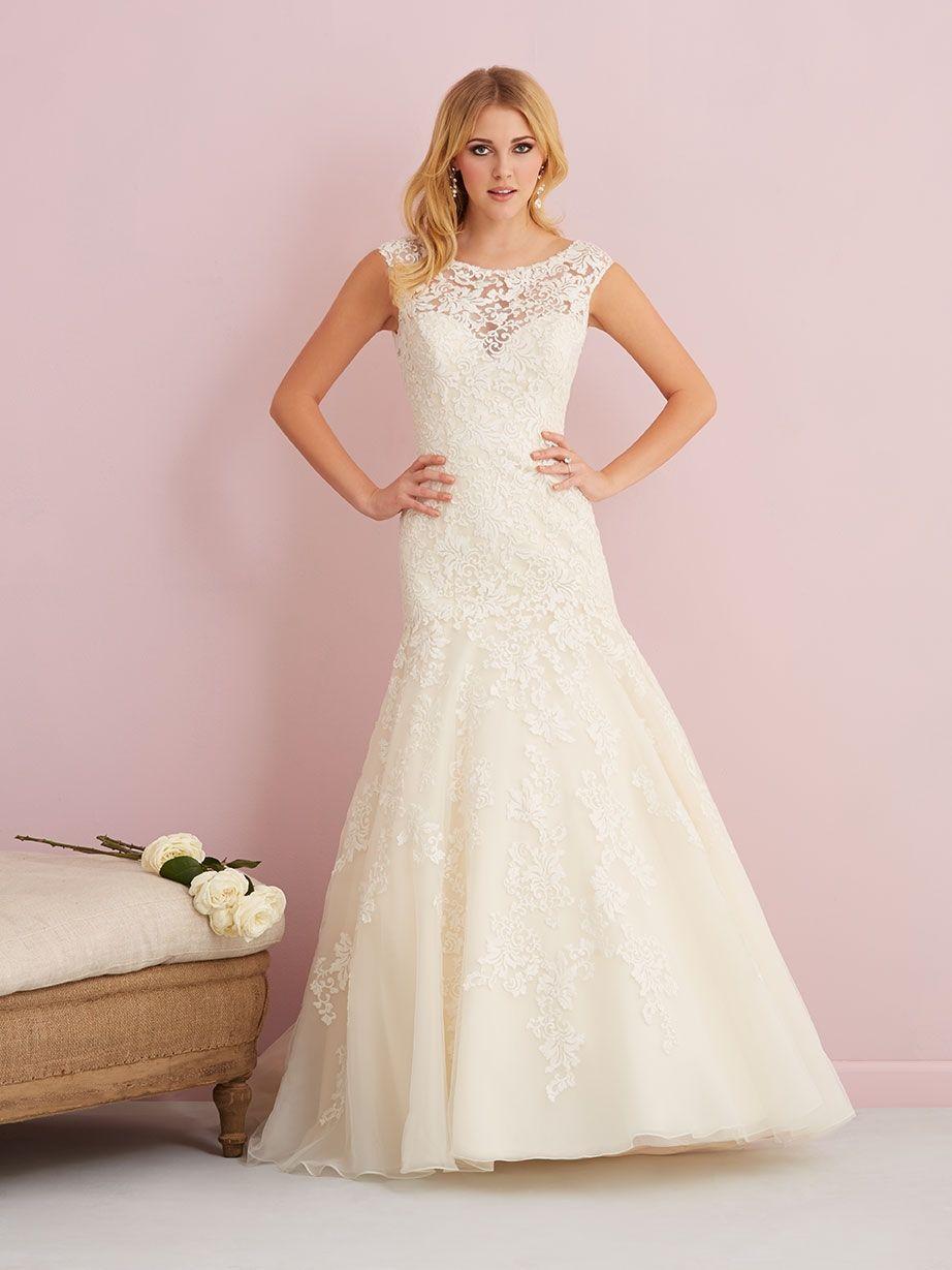 mainimage   pretty things   Pinterest   Allure bridals, Illusion ...