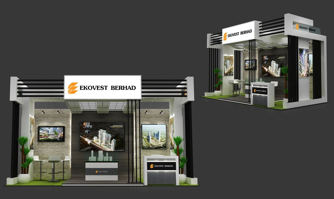 Ekovast Exhibition Booth By Firdaus Nawawi At Coroflot Com Exhibition Booth Exhibition Booth Design Exhibition Stand Design