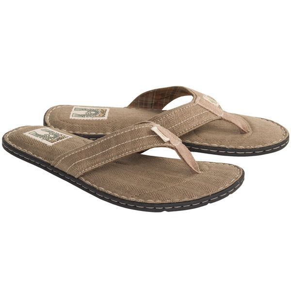 ffa5c1e2431ba3 Simple Gumbo Flip-Flop Sandals - Hemp-Recycled Materials (For Men ...