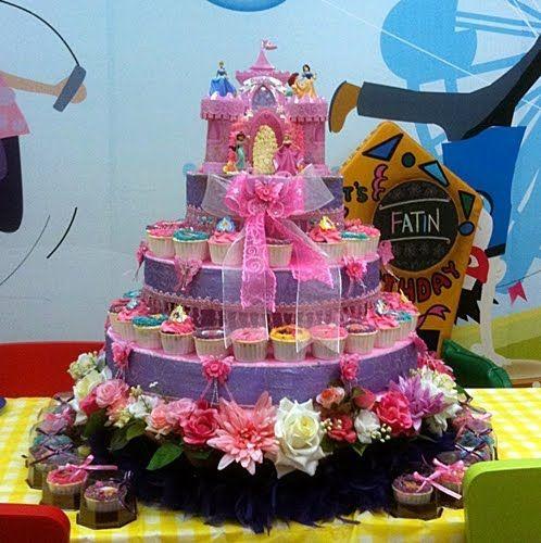 Excellent Most Beautiful Birthday Cake Beautiful Birthday Cakes Princess Birthday Cards Printable Giouspongecafe Filternl