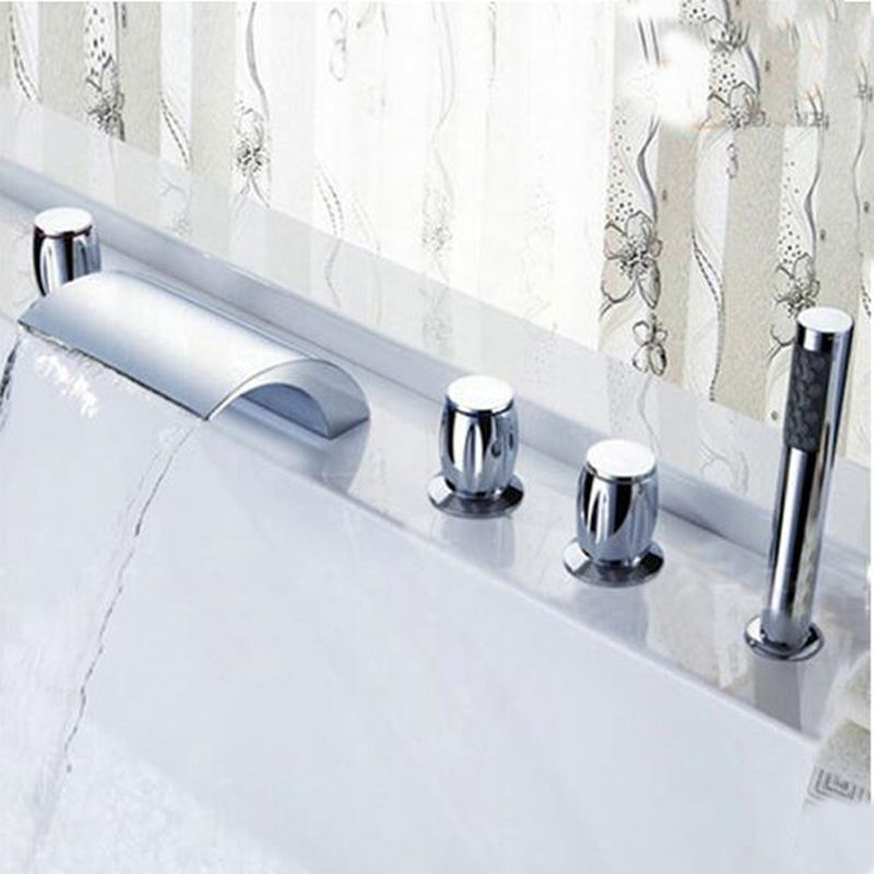 lever wall mount shower and faucet sprayer handles centers front variable gooseneck hand bathroom metal with bn pasaia tub