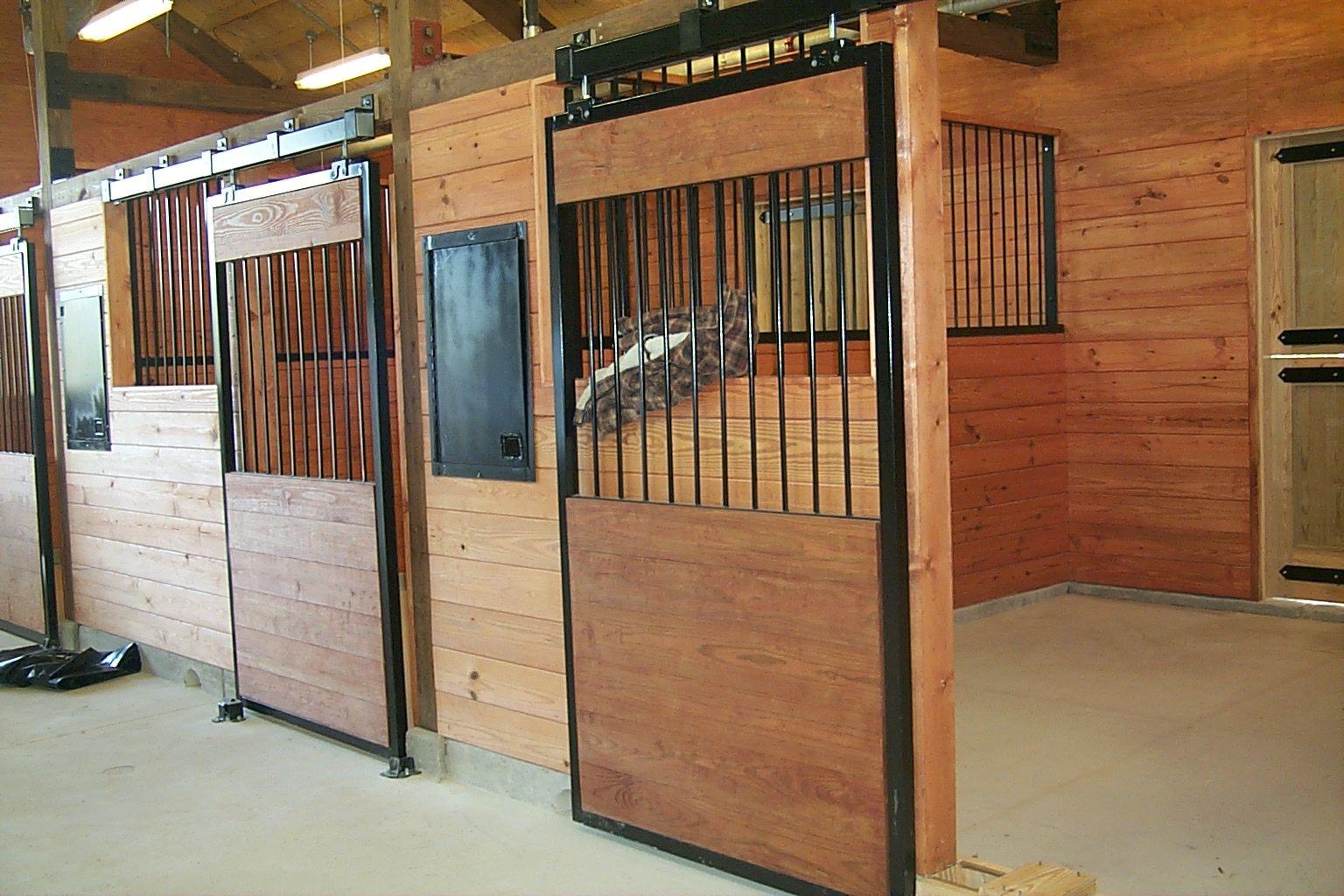 Sliding Doors For Horse Barn Dream Barn Diy Pinterest Stables