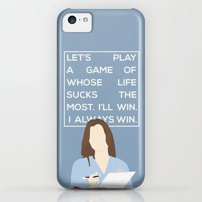 Greys Anatomy: Meredith Grey iPhone & iPod Case | G R E Y S | Pinterest