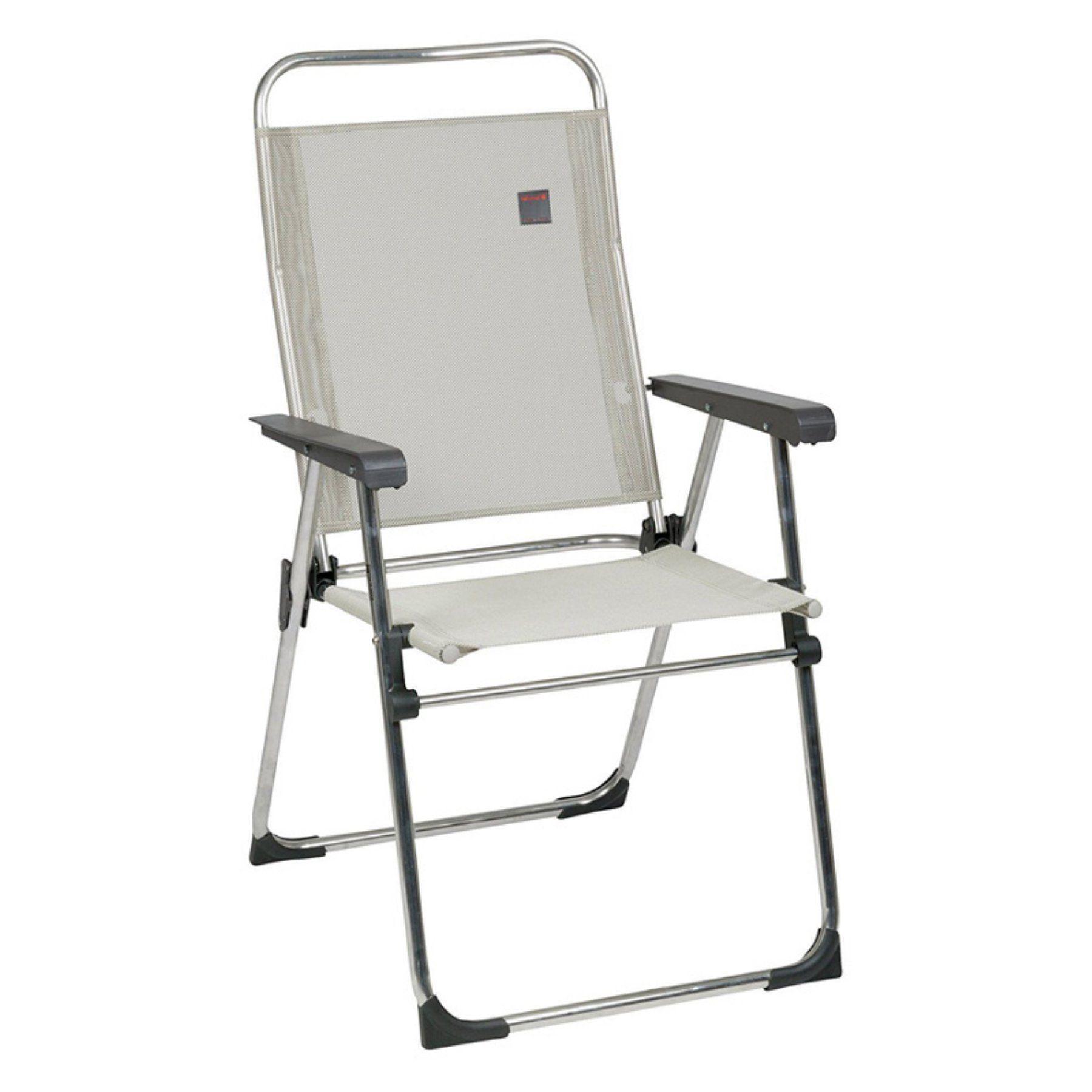 Lafuma Victoria Batyline Fabric Aluminum Folding Lawn Chair Set