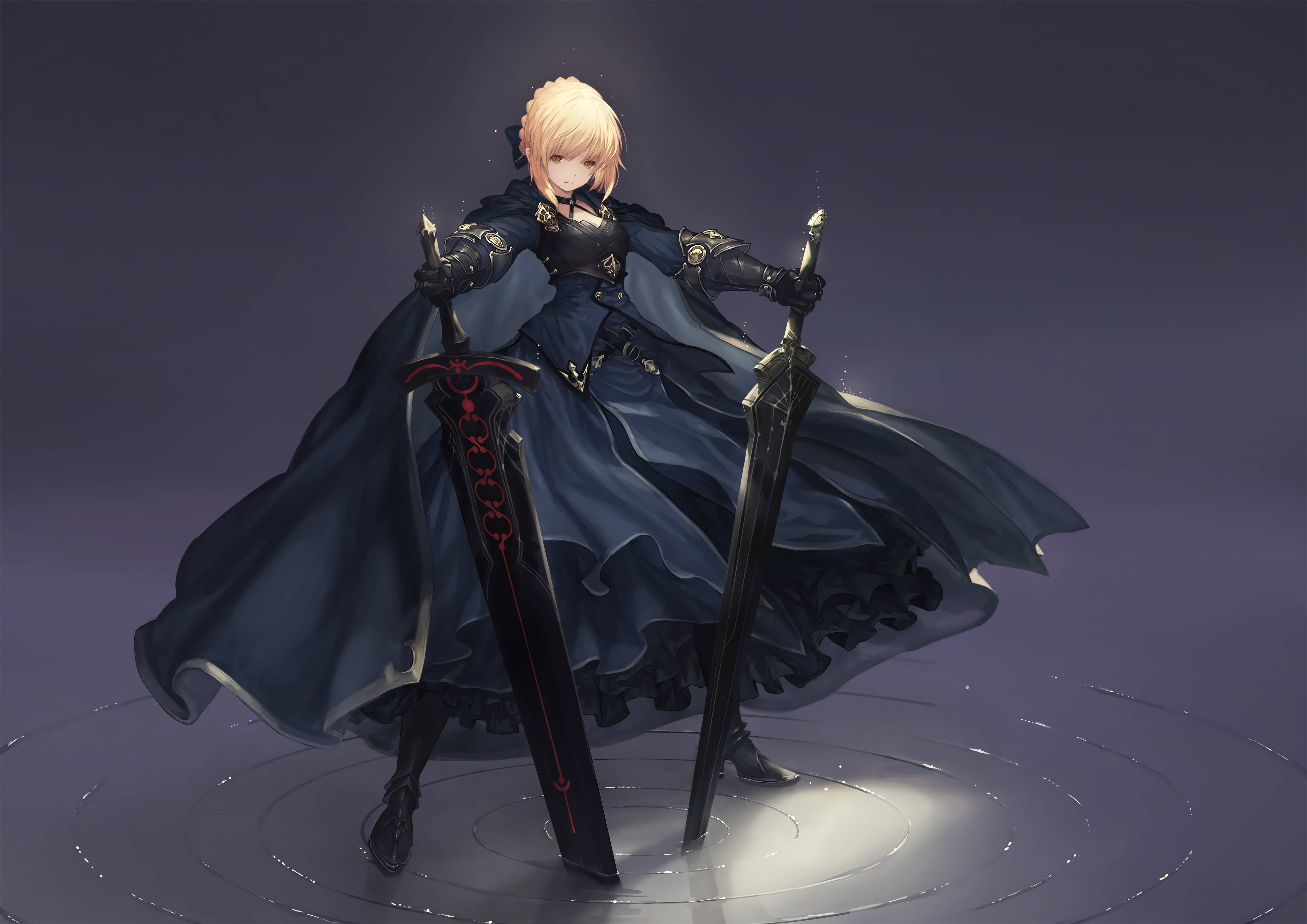 Saber Alter 5000x3536 Hd Wallpaper From Gallsource Com Anime