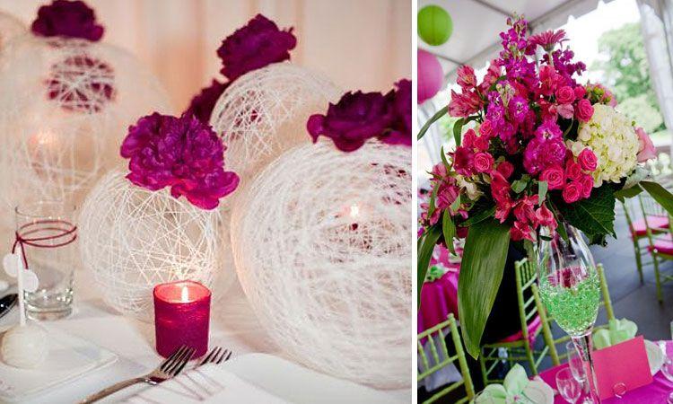 decofilia blog decoraci n de bodas arreglos florales para centros de mesa patios en 2019. Black Bedroom Furniture Sets. Home Design Ideas