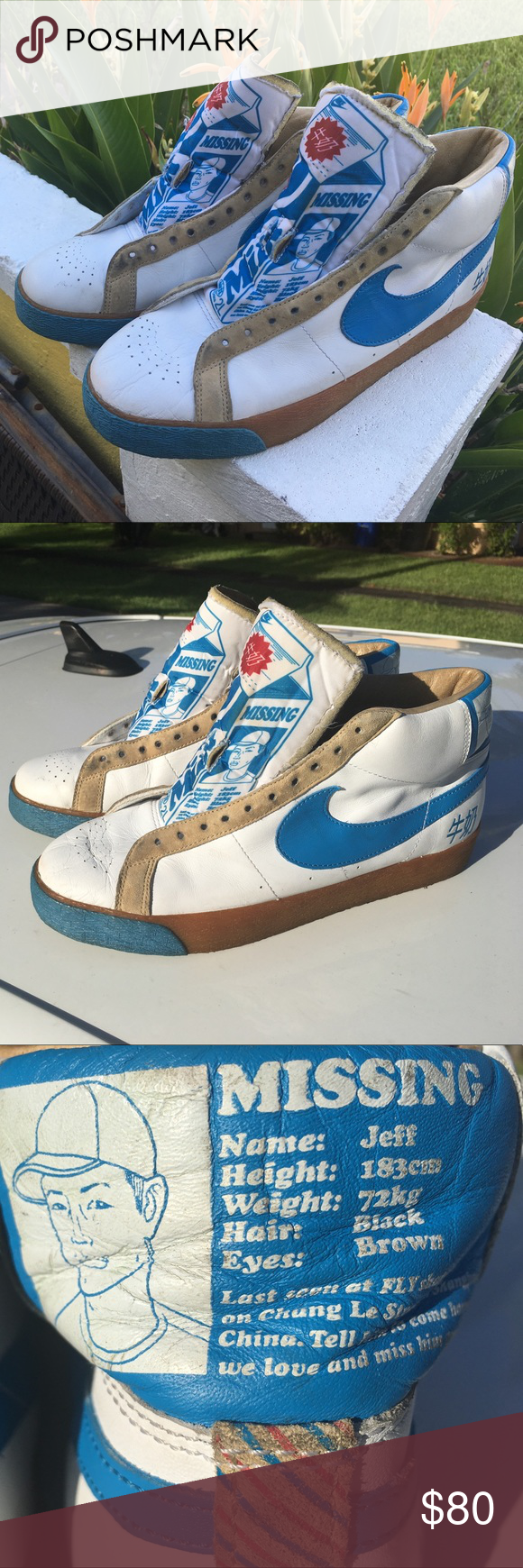 9530f189a2e2 Nike SB Fly Milk Blazer Premium Purchased in 2007 From Miami beach skate  shop