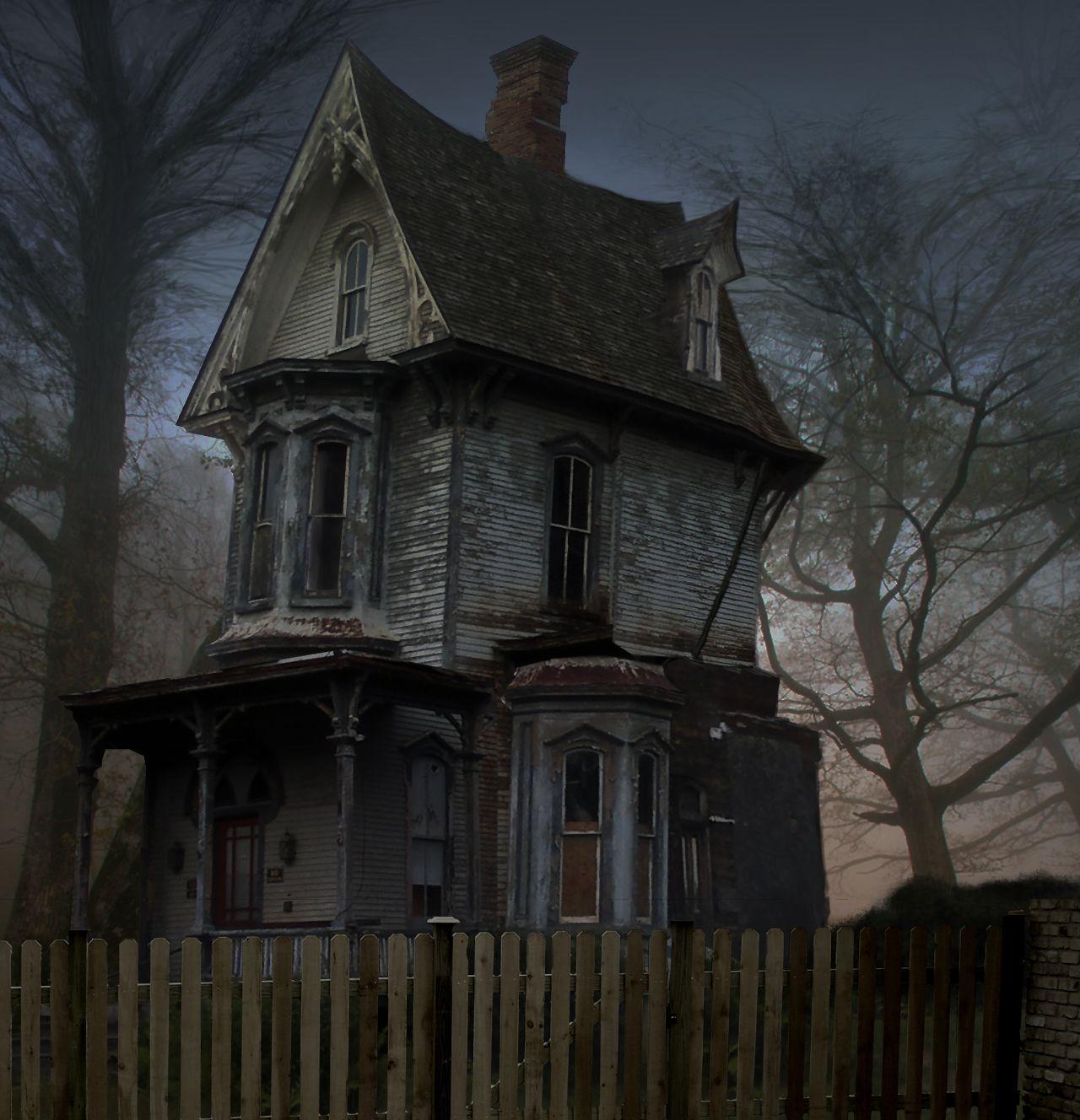 Картинки ужасные дома