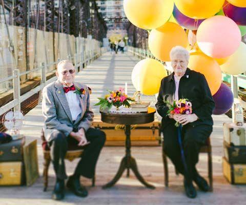 61 años de matrimonio, en Boston.