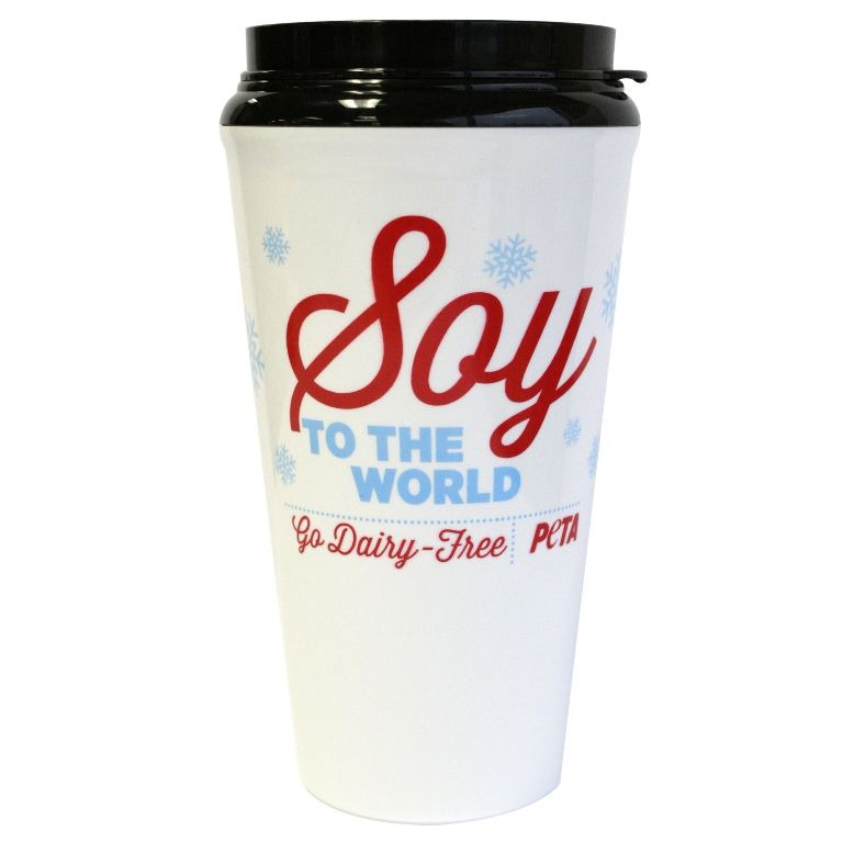 This Reusable Coffee Cup Is Perfect For Your Soy-, Almond