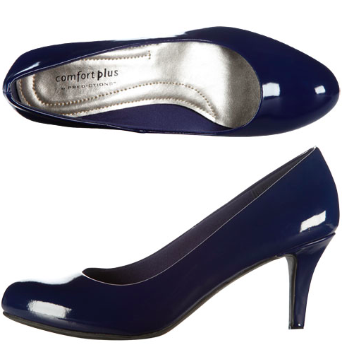 29d35805c2 Navy blue pumps from Payless. Does the fact that I'm still thinking about