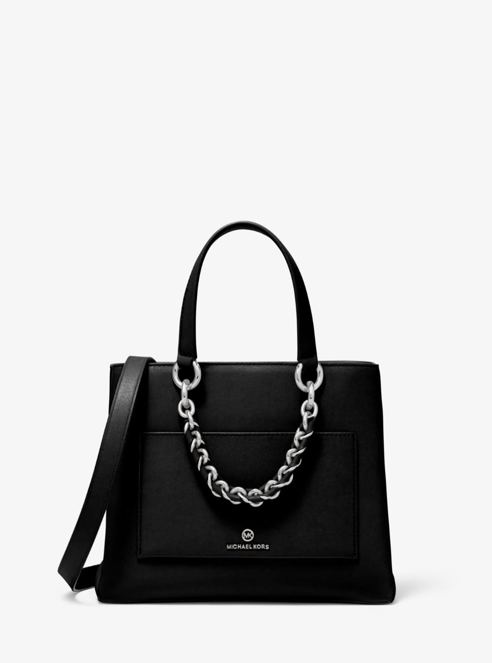 Cece Small Leather Chain Messenger Bag Michael Kors In 2020 Leder Michael Kors Kette