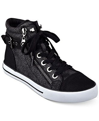 5dfdc0120 G by GUESS Women's Olama High Top Sneakers - Sneakers - Shoes - Macy's