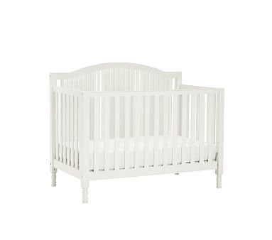 Catalina Fixed Gate 3-In-1 Crib, Simply White
