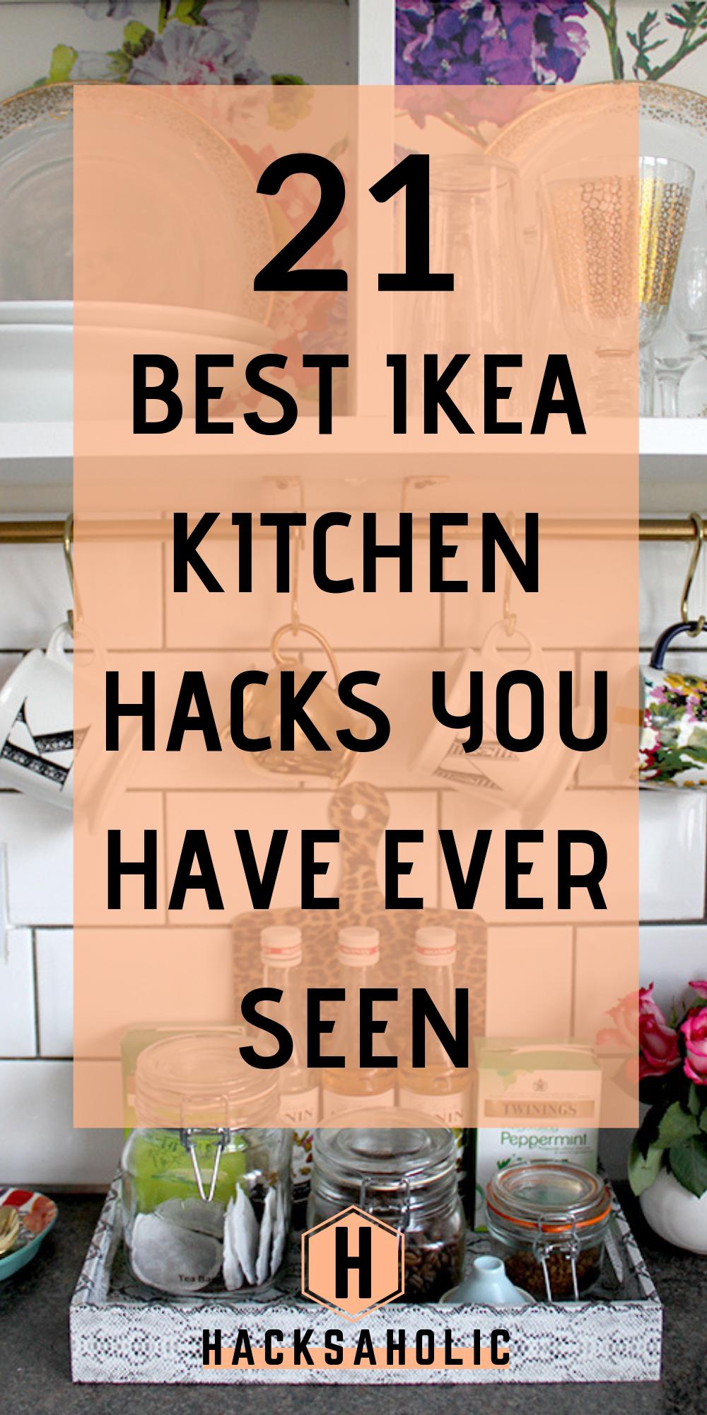 21 Ikea Kitchen Hacks That Will Keep You Organized