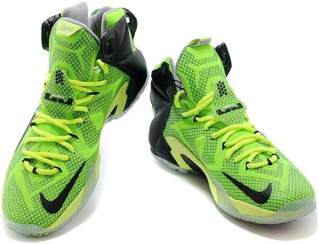 buy online cb155 271ae Lebron 12 P.S Elite Green Black White0