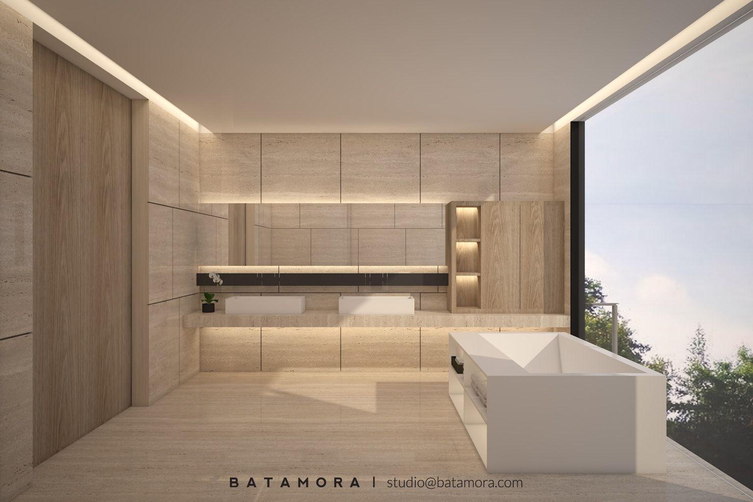 Dekorasi kamar mandi minimalis yang mewah | Portofolio By ...